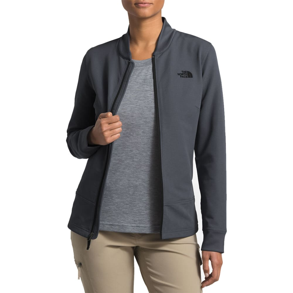 THE NORTH FACE Women's Tekno Ridge Full Zip Jacket - 7BK-GRSLLGY