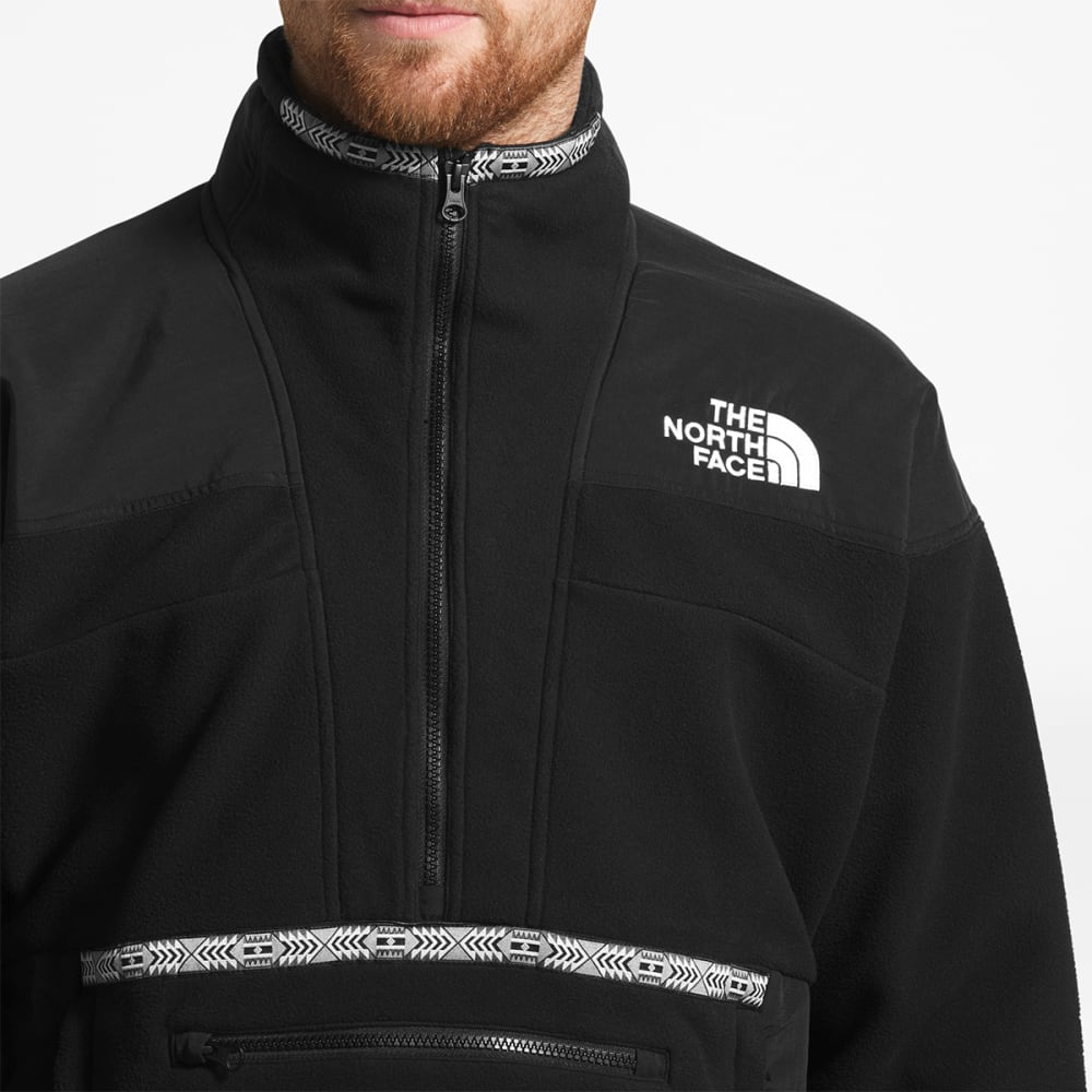 THE NORTH FACE Men's 92 RAGE FLEECE ANORAK - JK3-TNFBLK