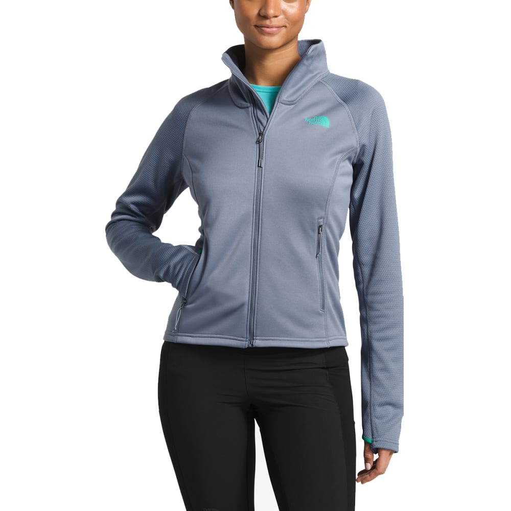 THE NORTH FACE Women's Evold Full Zip Jacket - 7BK-GRSLLGY