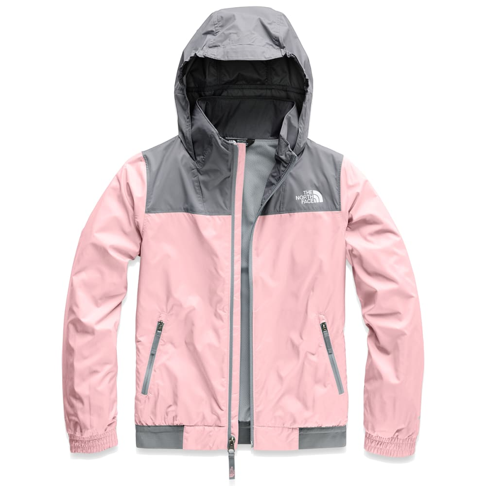 THE NORTH FACE Girls'  Windy Crest Jacket - 8ED PINK SALT