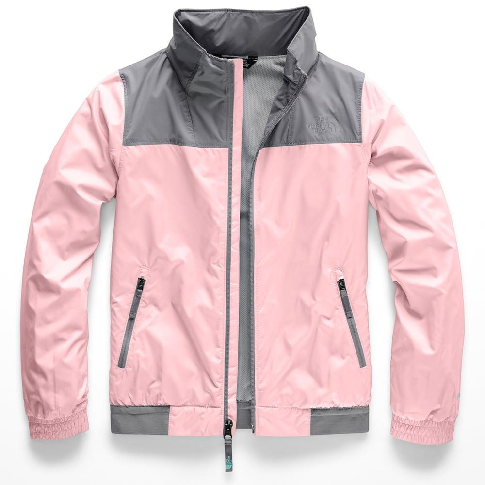 THE NORTH FACE Girls'  Windy Crest Jacket - 8ED PINK SALT