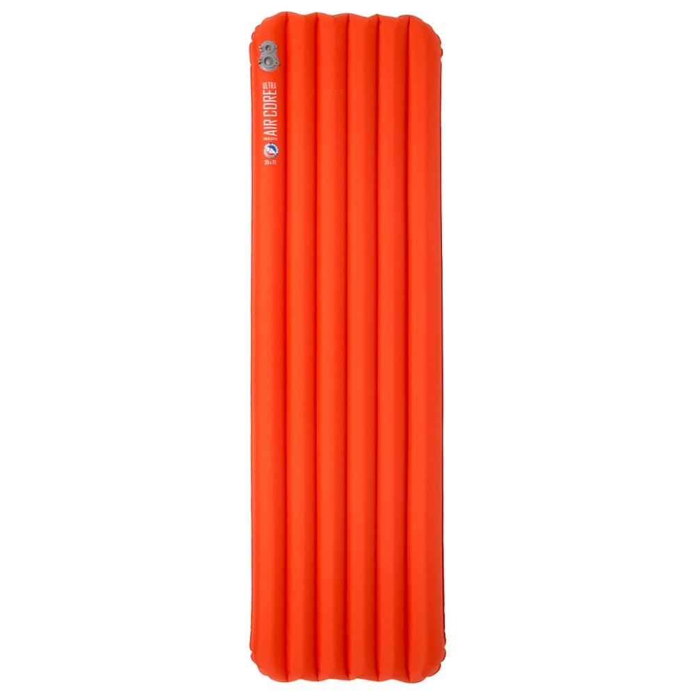 BIG AGNES Insulated Air Core Ultra Sleeping Pad, Wide, Long - ORANGE
