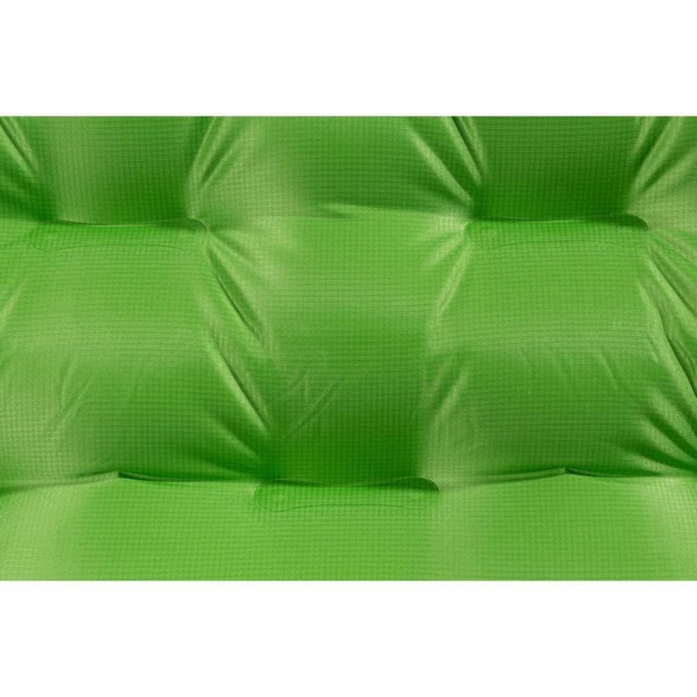 BIG AGNES Insulated Q Core Sleeping Pad, Regular Length - GREEN