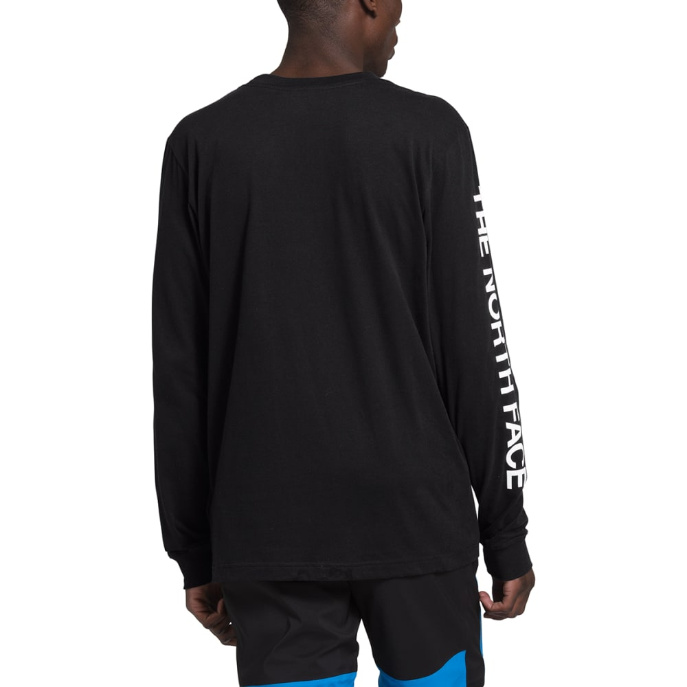 THE NORTH FACE Men's Sleeve Hit Long-Sleeve Tee - JK3BLACK