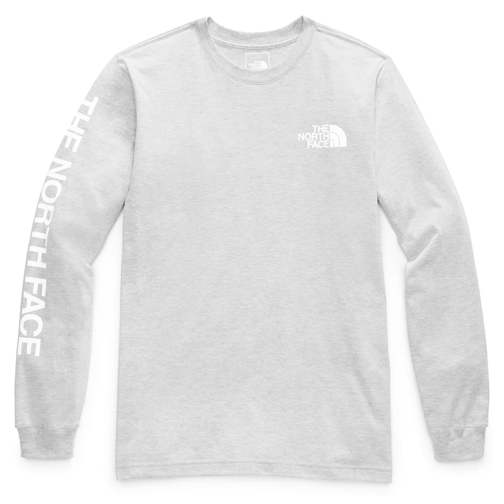 THE NORTH FACE Men's Sleeve Hit Long-Sleeve Tee - DYX TNF LT GR HTR