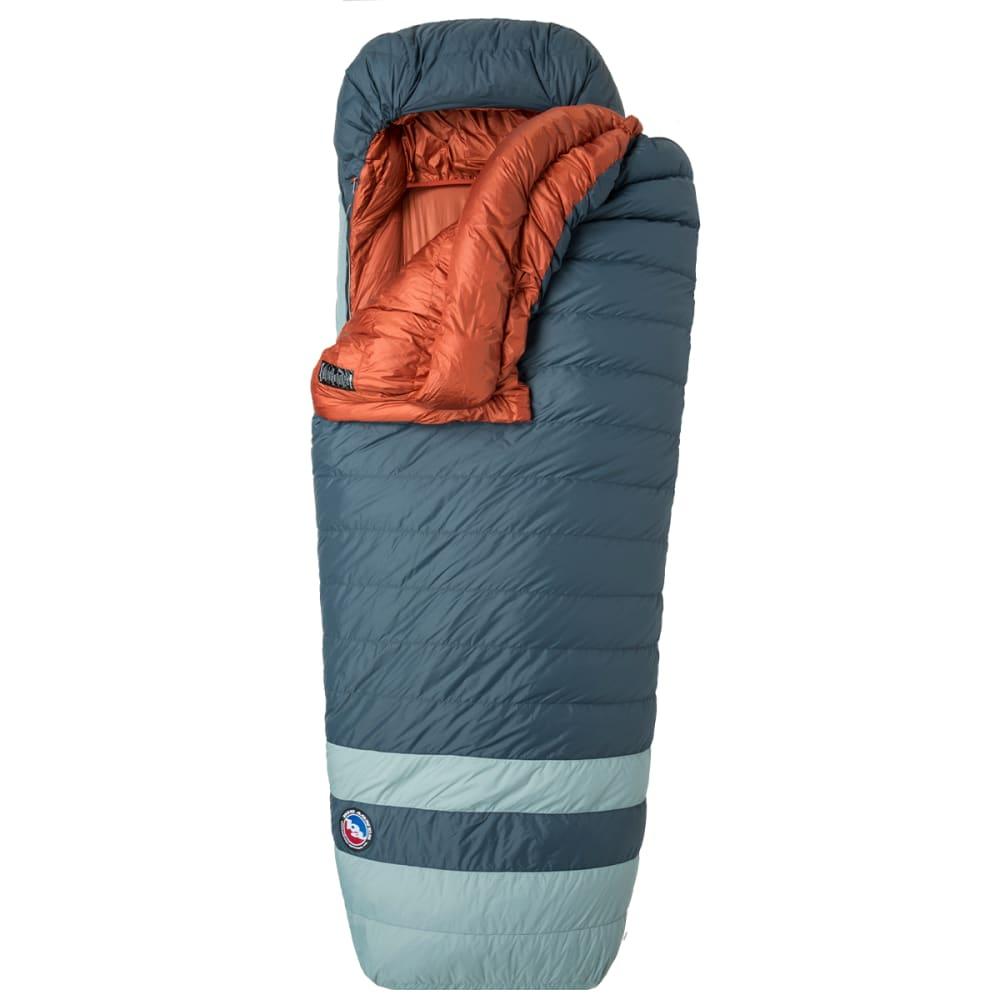BIG AGNES Diamond Park 15F Down Sleeping Bag, Wide & Long - GRAY/SLATE
