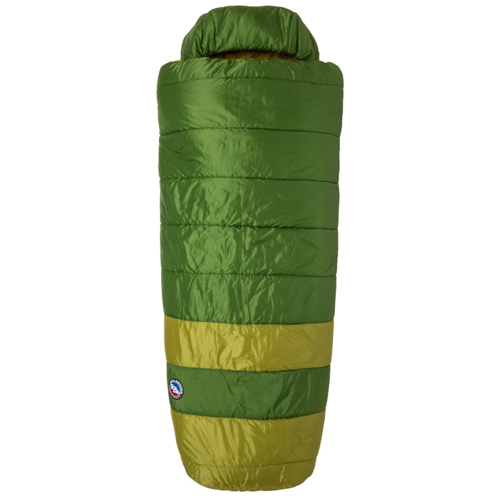 BIG AGNES Echo Park 20 Sleeping Bag - GREEN/OLIVE