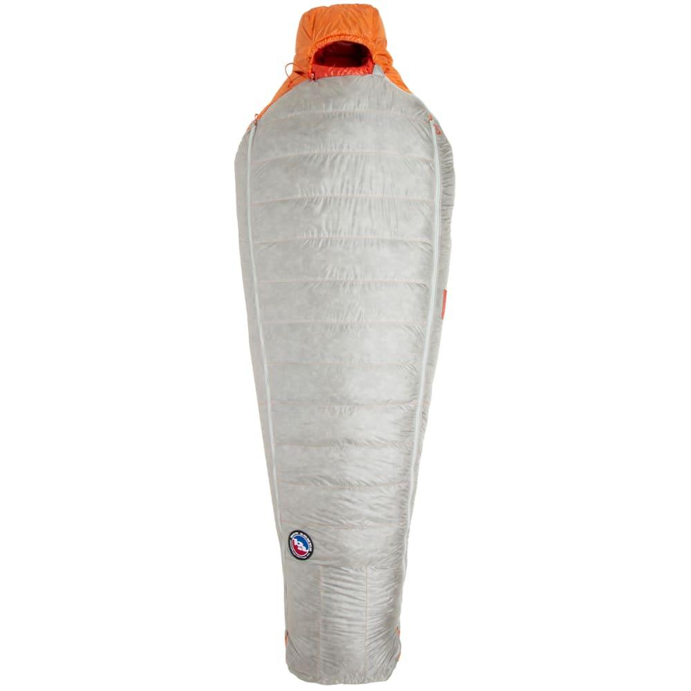 BIG AGNES Torchlight UL 20 Sleeping Bag, Long - ORANGE/GREY