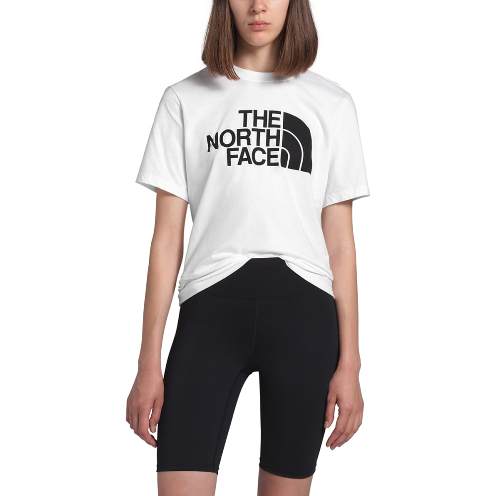 THE NORTH FACE Women's Half Dome Short-Sleeve Tee - FN4 TNF WHITE