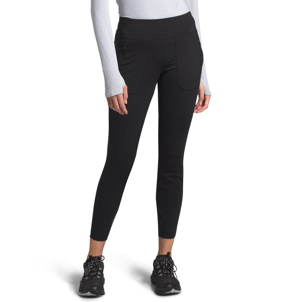 THE NORTH FACE Women's Paramount Hybrid High-Rise Tights - JK3-TNF BLACK