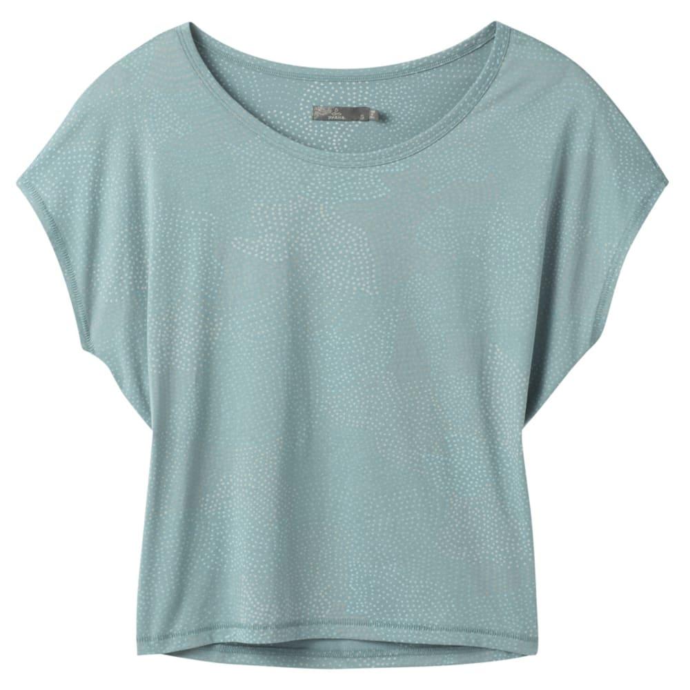 PRANA Women's Shady Springs Short-Sleeve Top L
