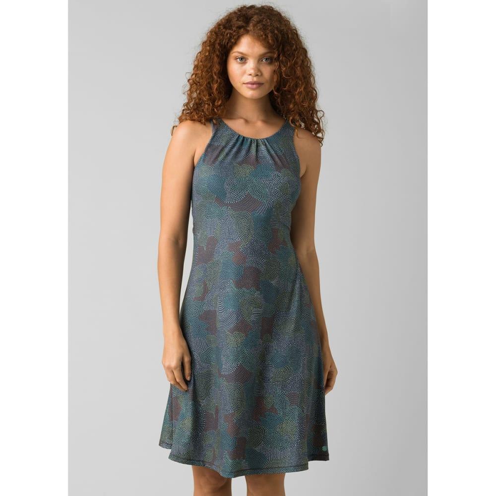 PRANA Women's Skypath Dress - CHALKBOARD DOTTY
