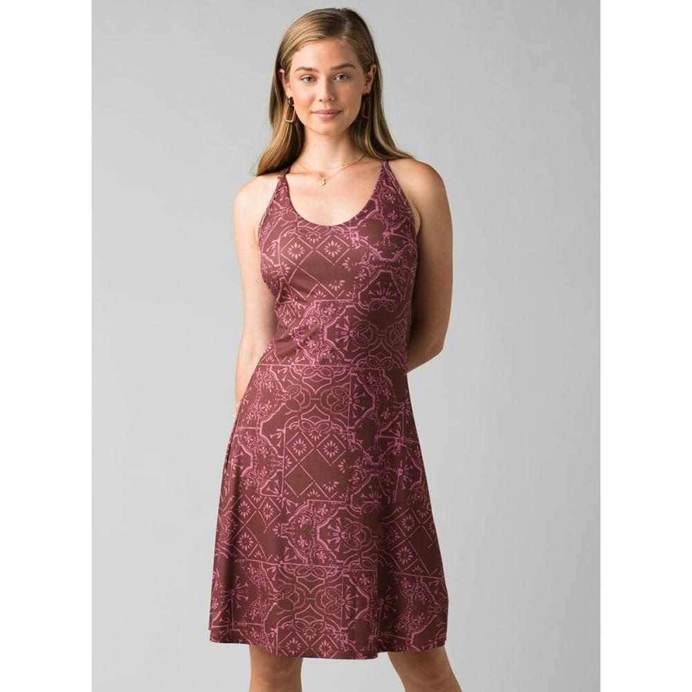 PRANA Women's Opal Dress - VINO TILE