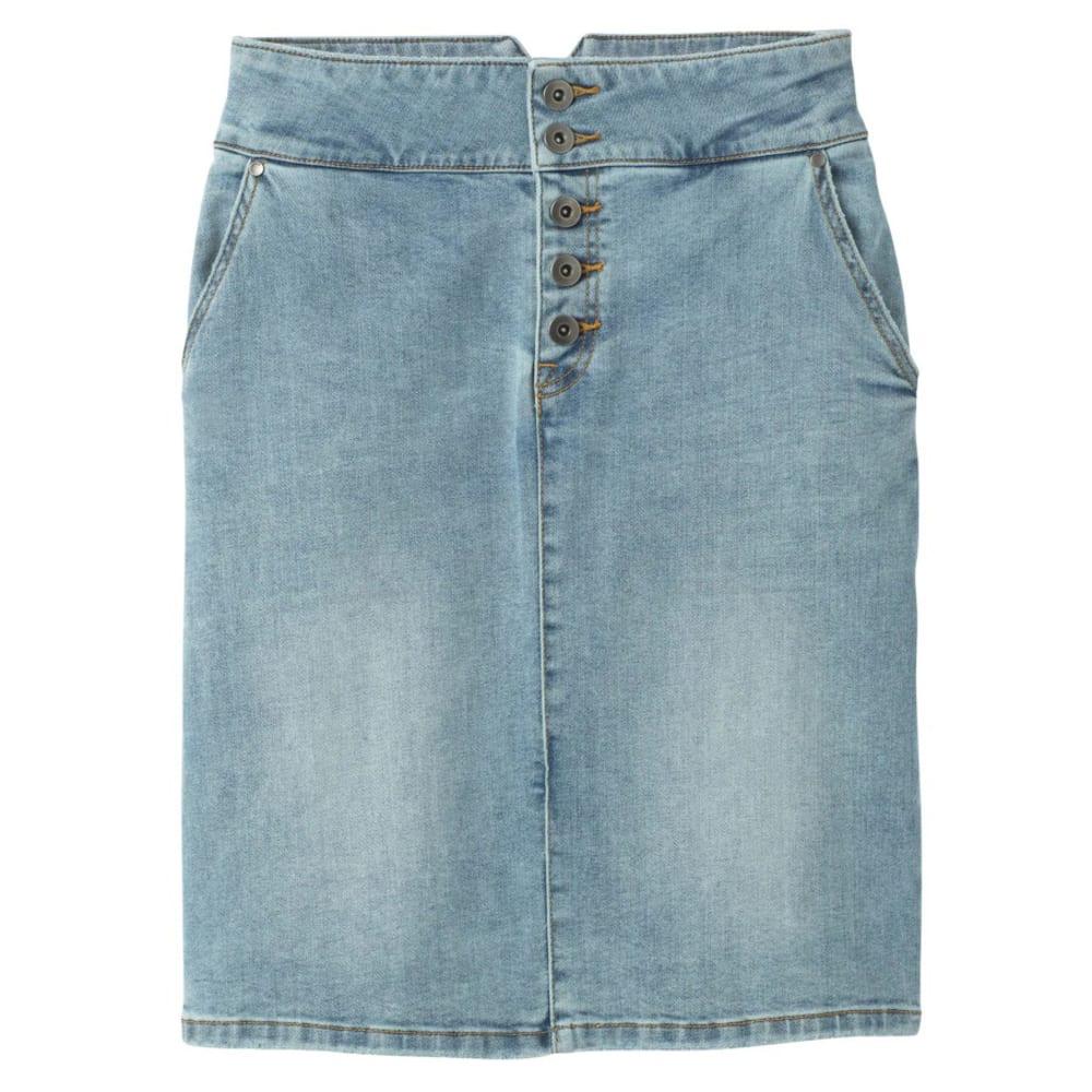 PRANA Women's Aubrey Denim Skirt 6