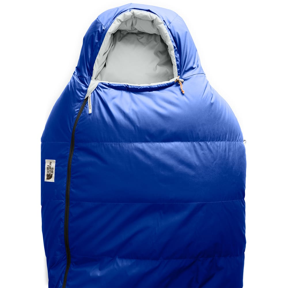 THE NORTH FACE Eco Trail 20 Down Sleeping Bag, Long - BLUE/TIN GREY