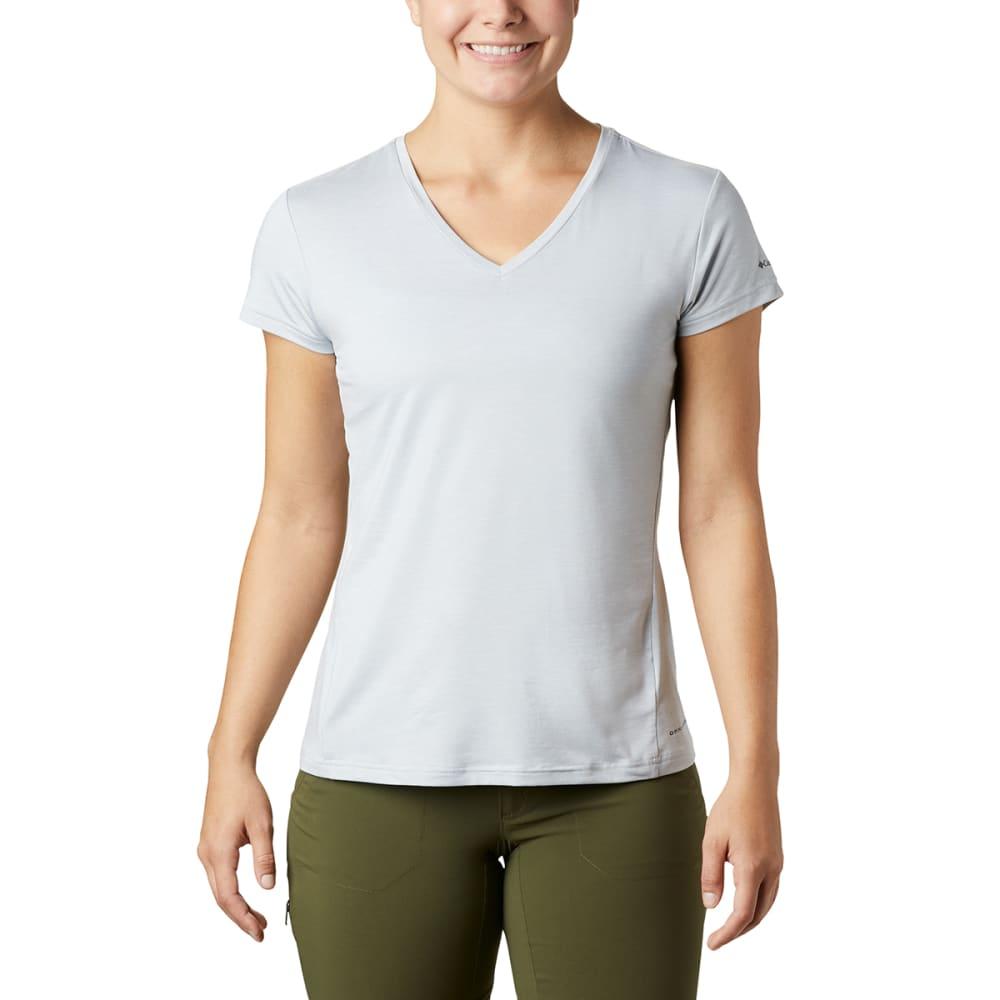 COLUMBIA Women's Bryce Short-Sleeve V-Neck Short XL