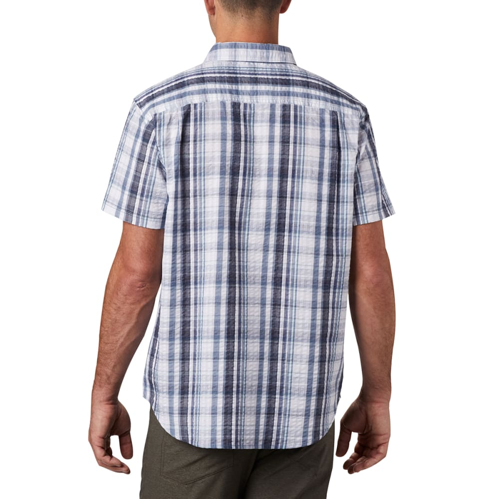 COLUMBIA Men's Short-Sleeve Brentyn Trail Shirt - 441 MOUNTAIN PLAID