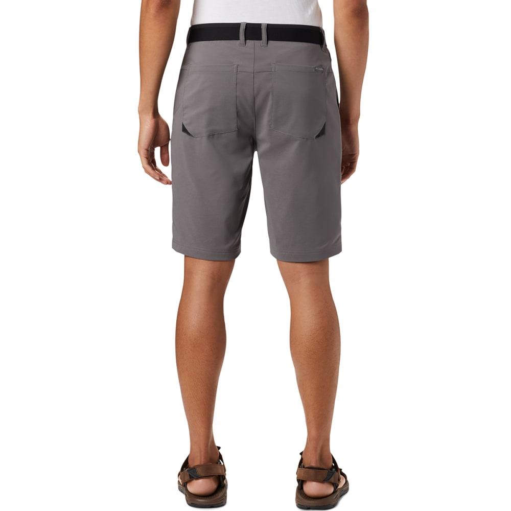 COLUMBIA Men's Tech Trail Shorts - 023 CITY GREY
