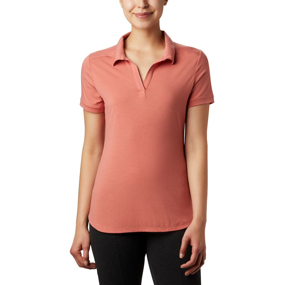 COLUMBIA Women's Essential Elements Polo Shirt L
