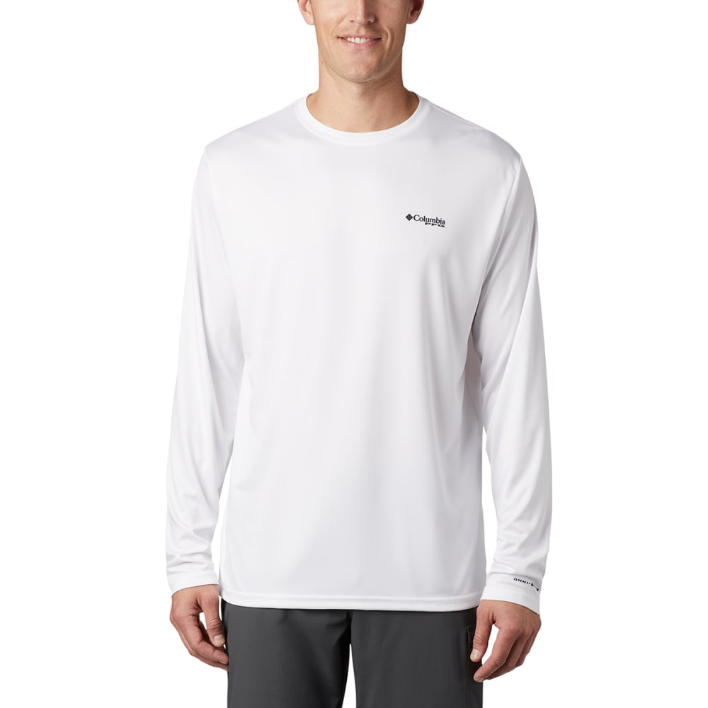 COLUMBIA Men's Terminal Tackle PFG Fish Flag Long-Sleeve Shirt XL