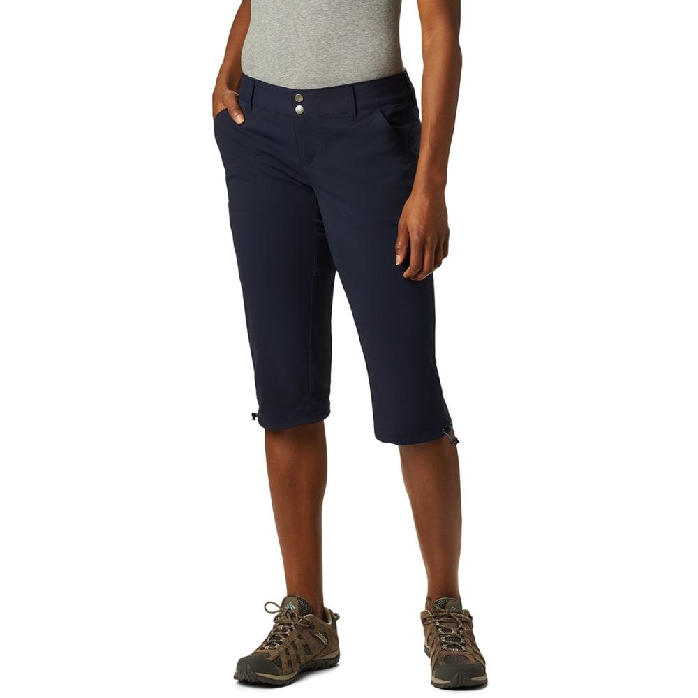 COLUMBIA Women's Saturday Trail II Knee Pants - 472 DARK NOCTURNAL