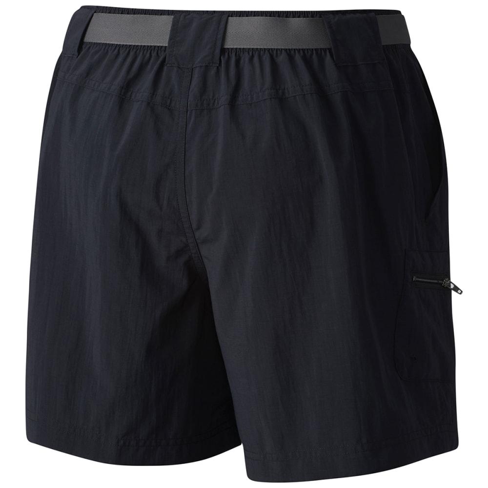 COLUMBIA Women's Sandy River Cargo Shorts - 010 BLACK