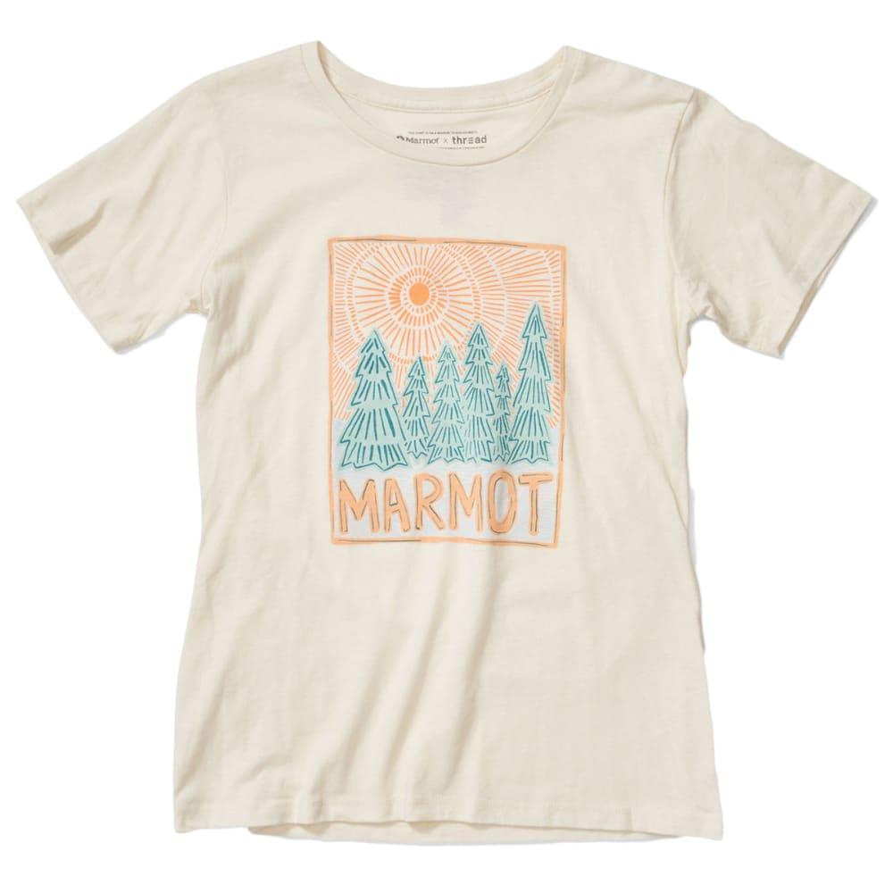 MARMOT Women's Woodblock Short-Sleeve Tee S