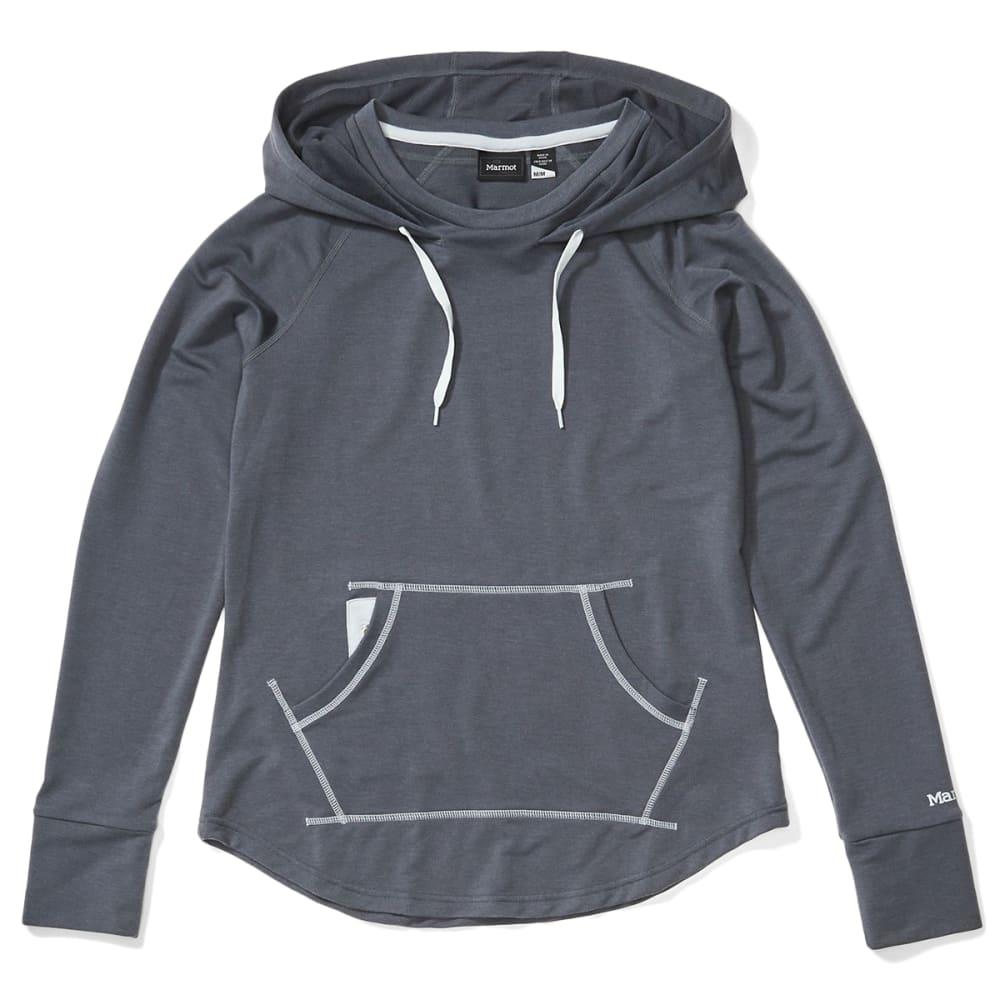 MARMOT Women's La Linea Pullover - 1515 STEEL ONYX