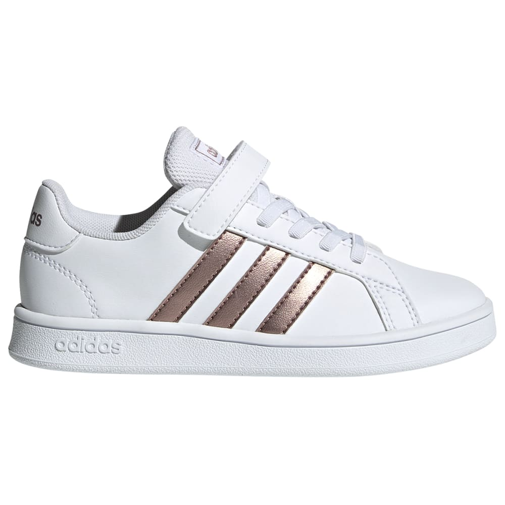 ADIDAS Girls' Grand Court Leather Sneaker 1