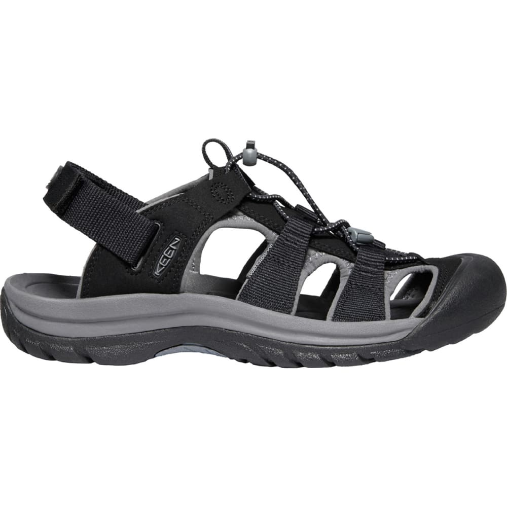 KEEN Men's Rapid H2 Sandal - BLACK/ STEEL GREY