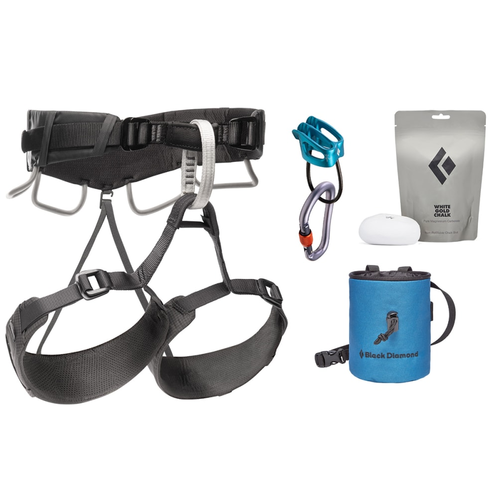 BLACK DIAMOND Momentum 4S Harness Package - ANTHRACITE