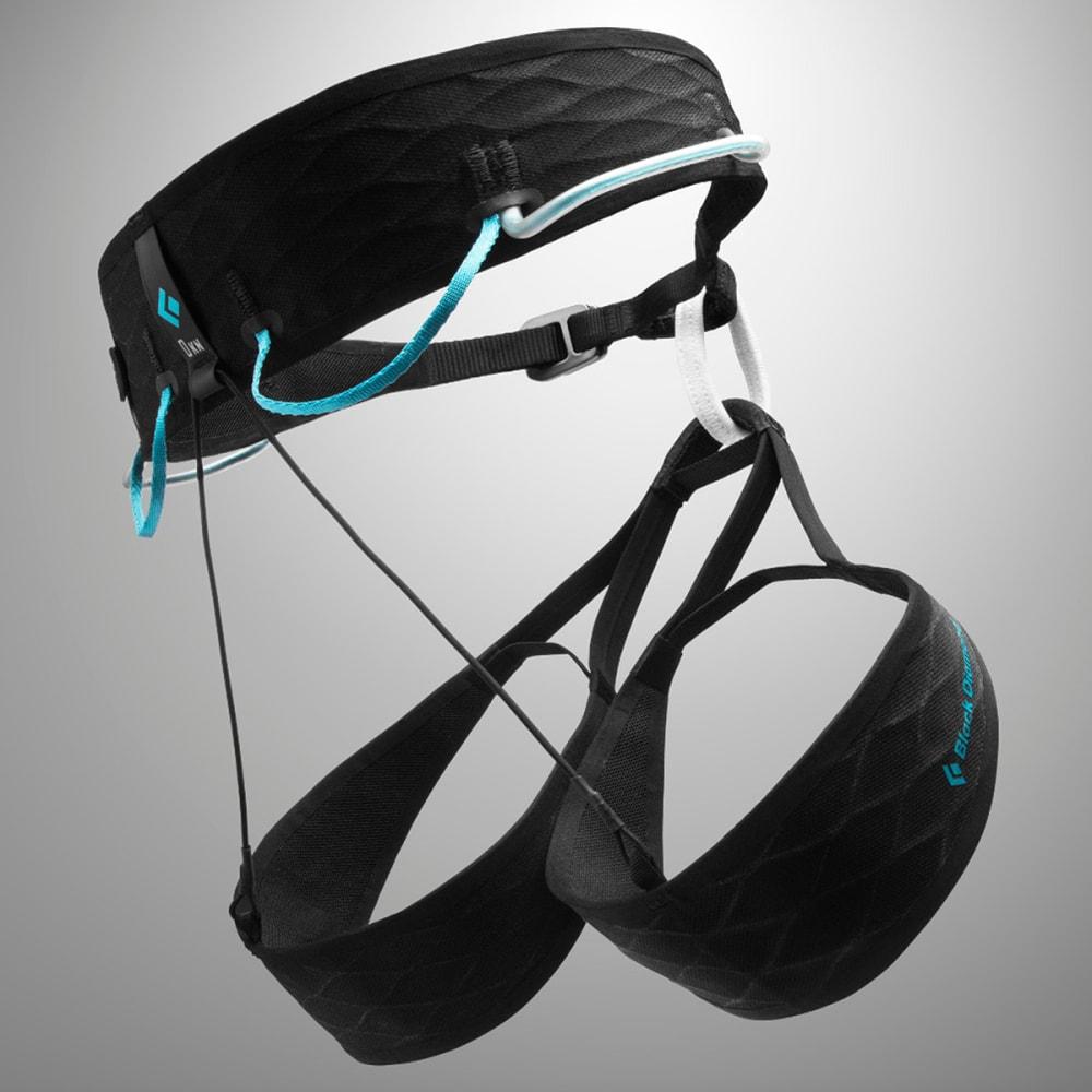 BLACK DIAMOND Women's AirNet Harness - BLACK-AQUA