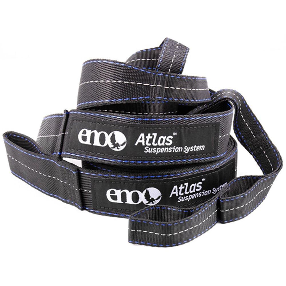 ENO Atlas Hammock Suspension System Straps - CHARCOAL/ROYAL
