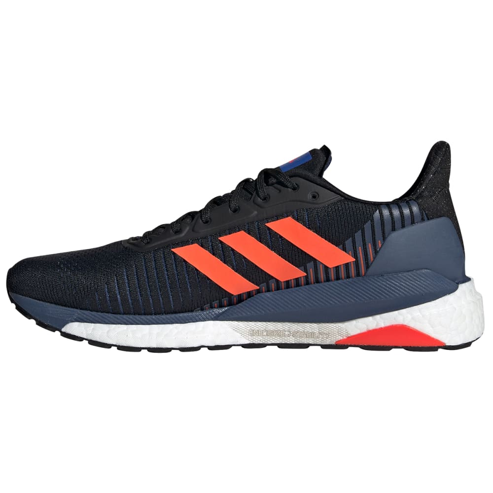 ADIDAS Men's Solar Glide ST 19 Running Shoe - BLK/RED-EE4290