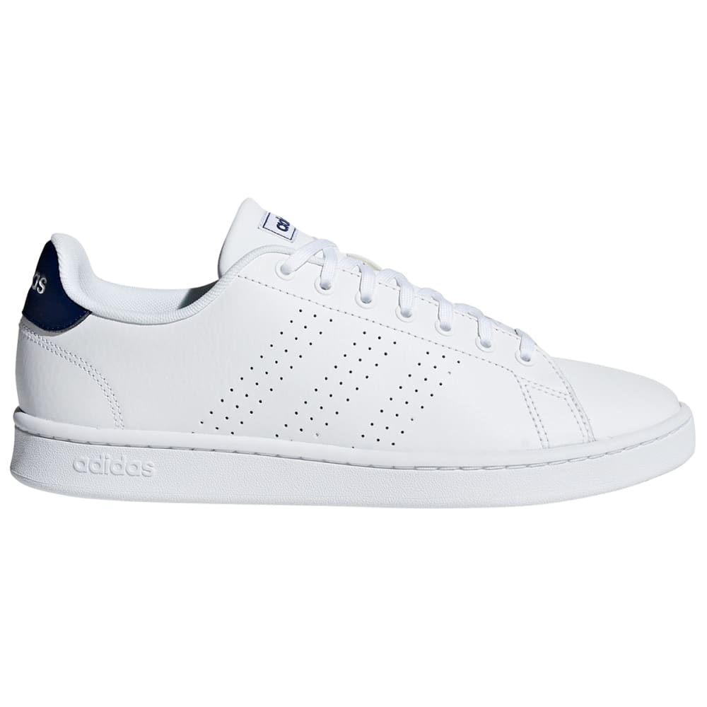 ADIDAS Men's Advantage Shoes - WHT/DKBLUE-F36423
