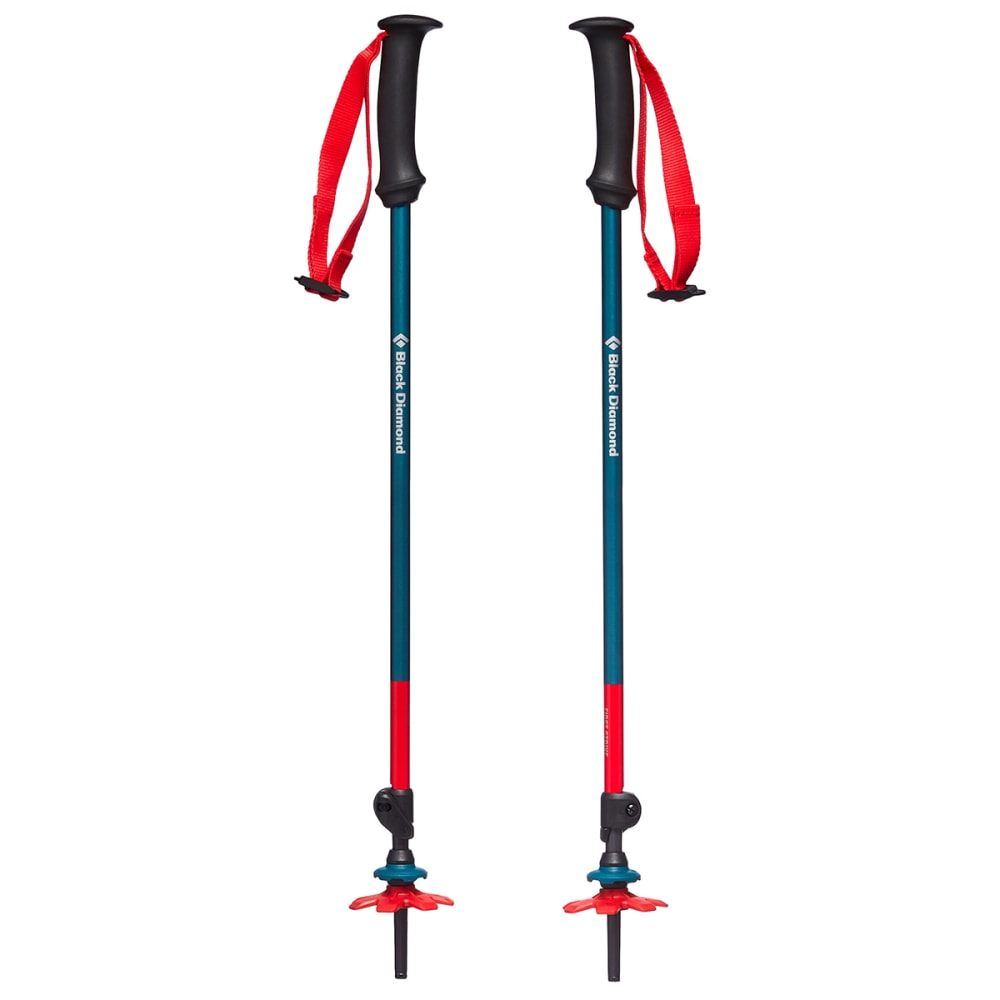 BLACK DIAMOND Kids' First Strike Trekking Poles - FJORD BLUE