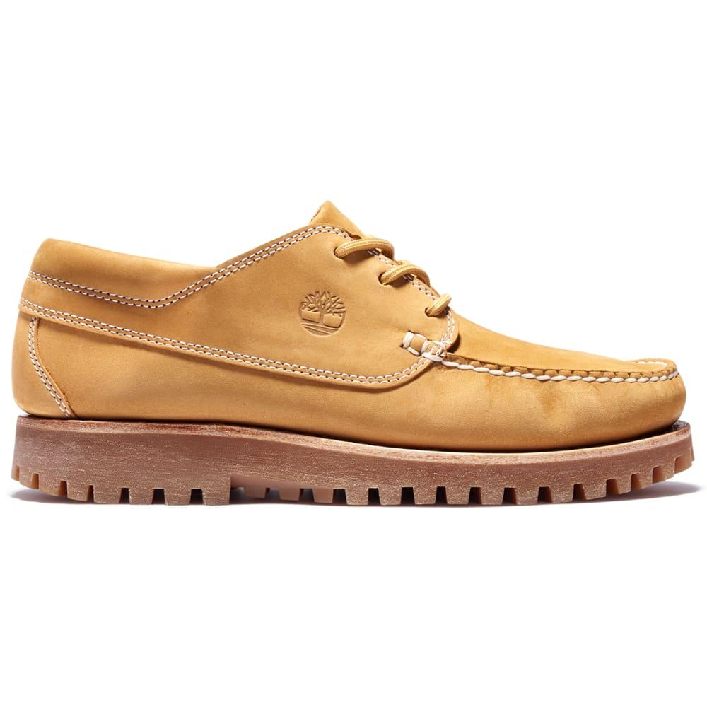 TIMBERLAND Men's Jackson's Landing Moc Toe Boots - WHEAT NUBUCK