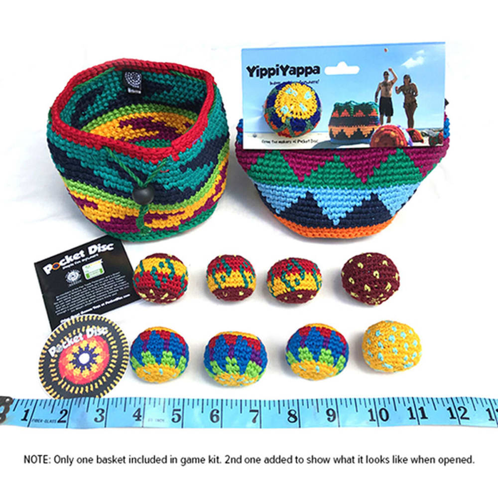 POCKET DISC YippiYappa Game Kit - ASSORTED