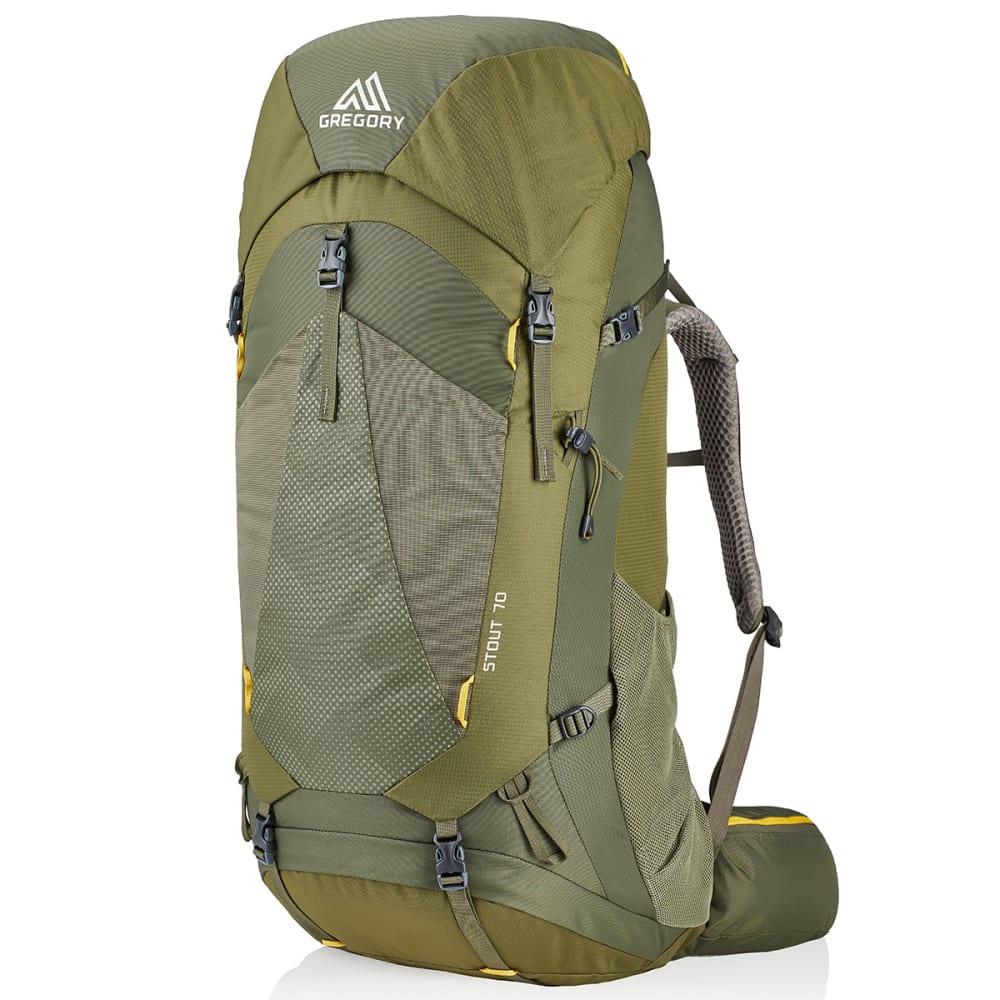 GREGORY Men's Stout 70 Backpack - FENNEL GREEN 1333
