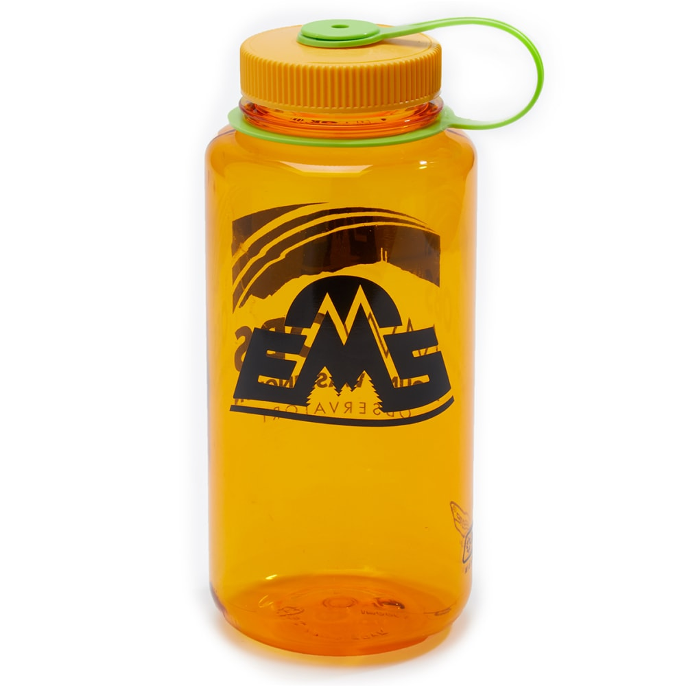EMS Mt. Washington Observatory 32 Oz Wide Mouth Water Bottle - CLEMENTINE