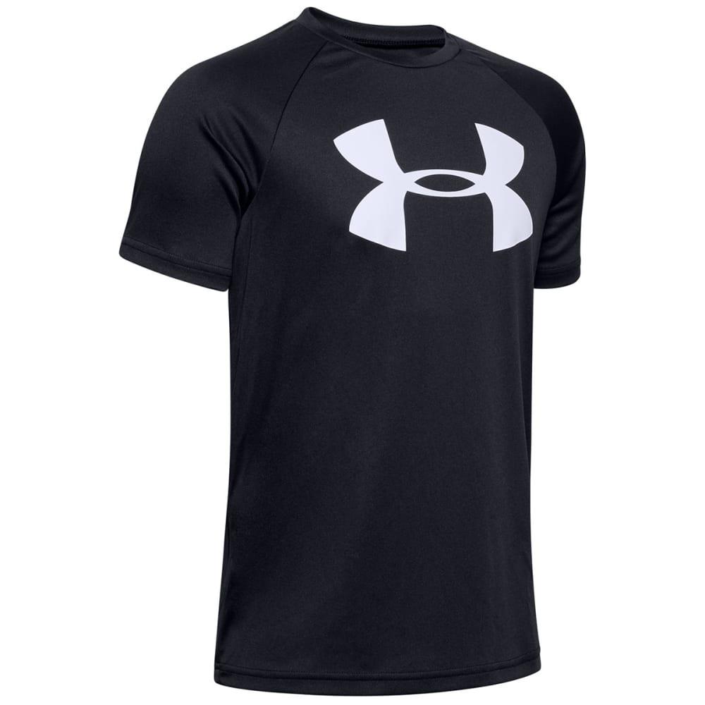 UNDER ARMOUR Boys' UA Tech Big Logo Short-Sleeve Tee M