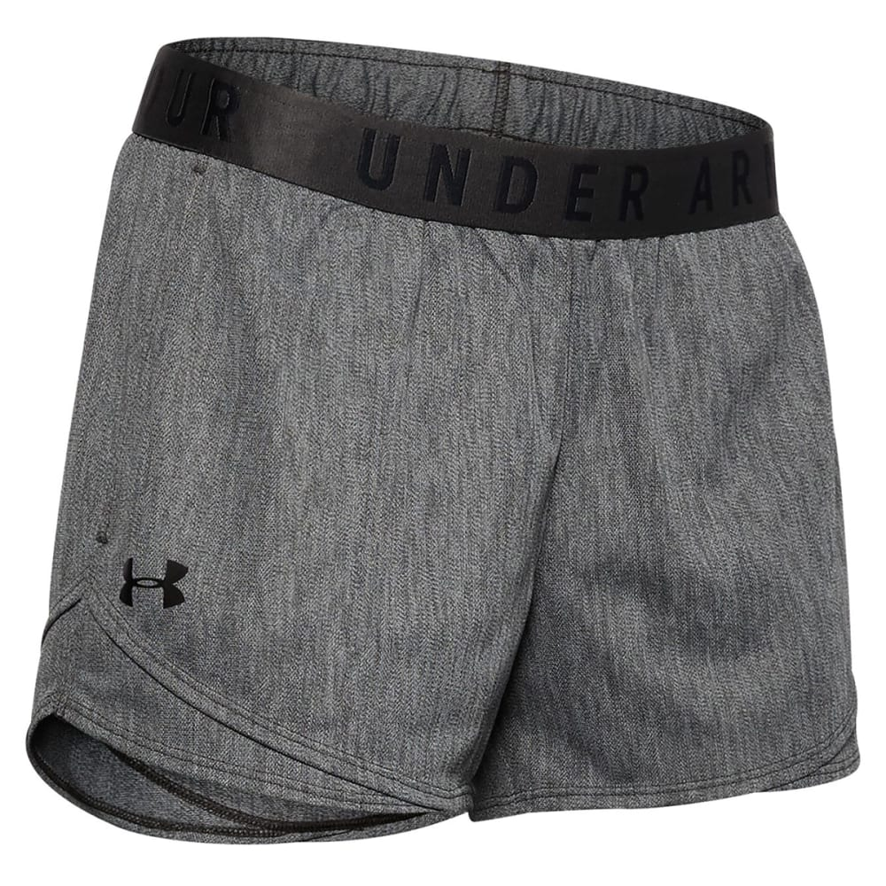 UNDER ARMOUR Women's Play Up 3.0 Twist Shorts L
