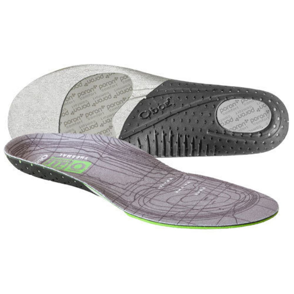 OBOZ O Fit Insole Plus Med Arch Thermal Insole - NO COLOR