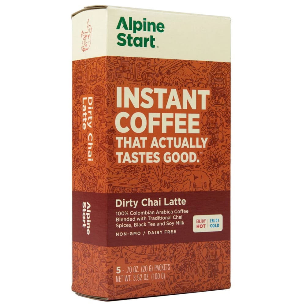 ALPINE START Dirty Chai Latte Instant Coffee - NO COLOR