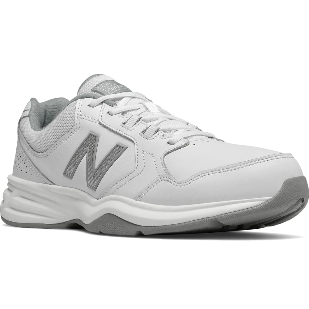 NEW BALANCE Men's 411 Walking Shoes - WHT-MA411LW1