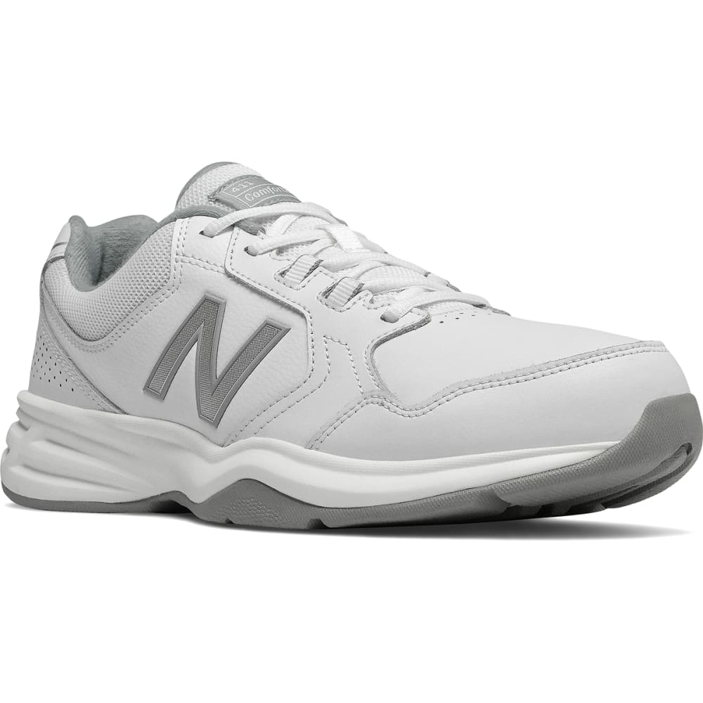 NEW BALANCE Men's 411 Walking Shoes, Wide - WHT-MA411LW1-4E