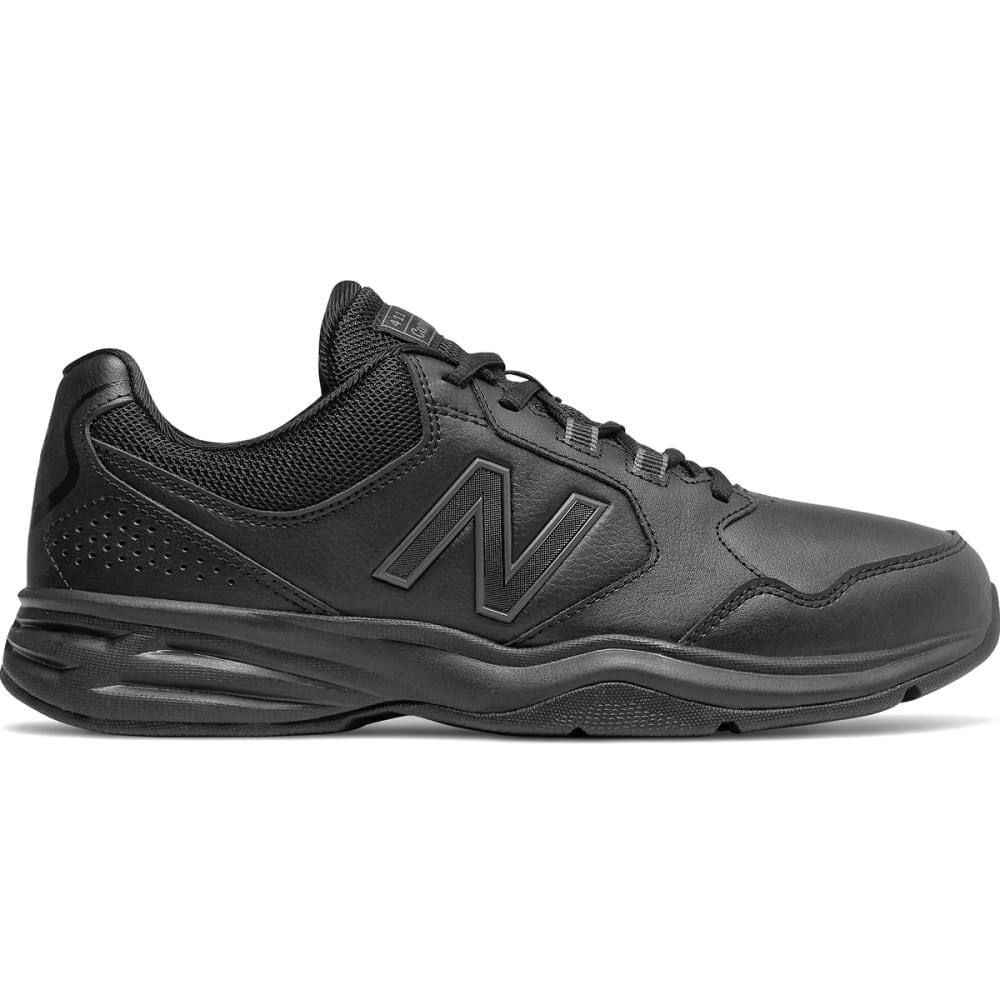 NEW BALANCE Men's 411 Walking Shoes, Wide - BLK-MA411LK1-4E