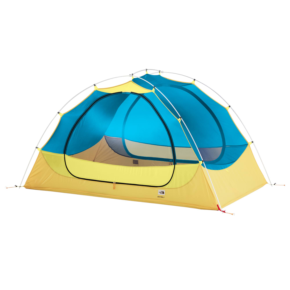THE NORTH FACE Eco Trail 2 Tent - STINGER YELLOW/BLUE