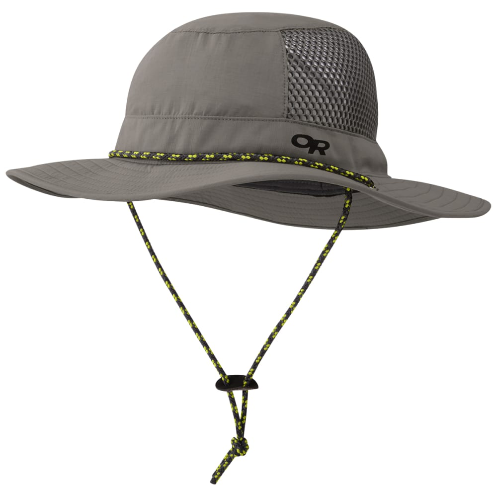 OUTDOOR RESEARCH Men's Nomad Sun Hat - 0008 PEWTER