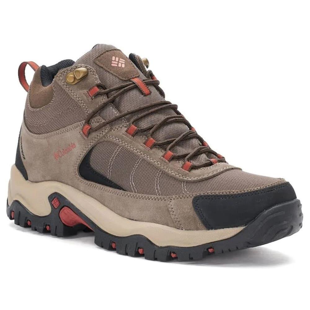 COLUMBIA Men's Granite Ridge Waterproof Hiking Boots - 255-MUUD RUSTY